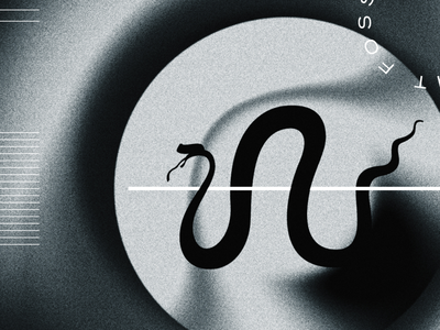 Detail gradient blur grain illustration vector logo icon
