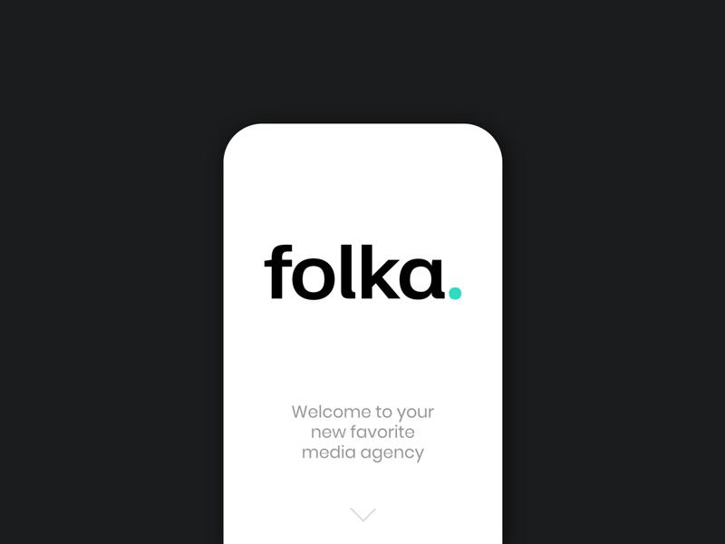 Folka Media logotypes logotype design logotype vector graphic design identity typography branding logo