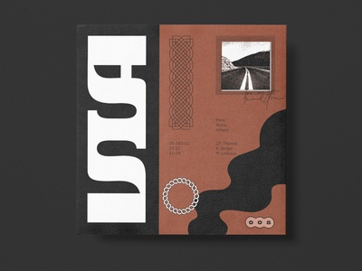 Via vector typography type symbol logo lettering illustration identity iconography icon graphic design branding