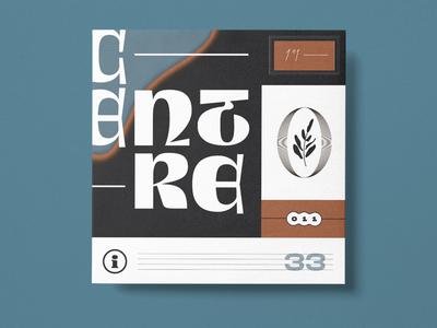 Centre vector typography type symbol logo lettering illustration identity iconography icon graphic design branding
