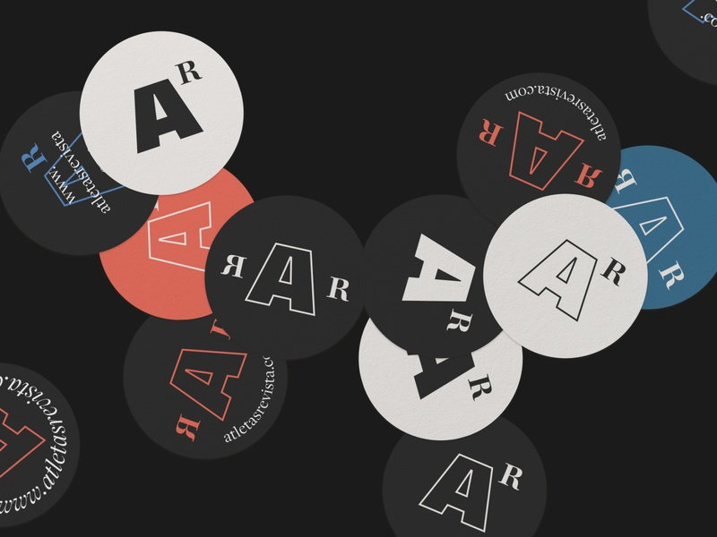 Atletas Revista design typography identity visual identity logodesign brand identity logotype logo branding