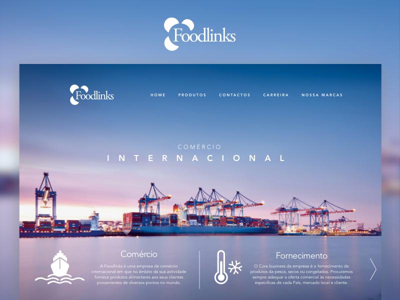 Homepage website web design ui ux