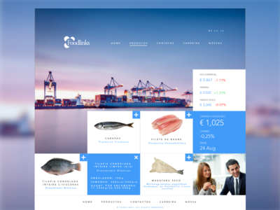 Products website design ui ux products