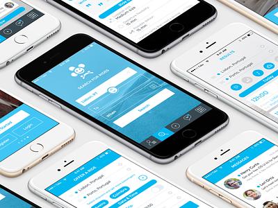 Coming...  ux iphone design app ui