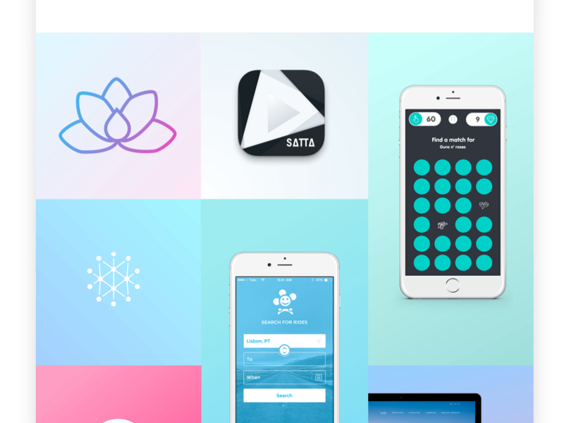 Portfolio ux ui apps design portfolio