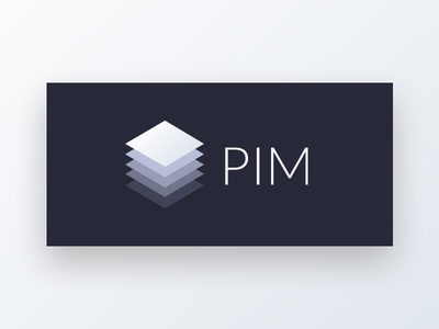Pim design logo