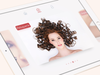 Discover mode beauty cards slide discovery ux ui app