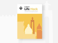 Lisbon Life hack Ebook uiux ui webflow design ebook website webdesign
