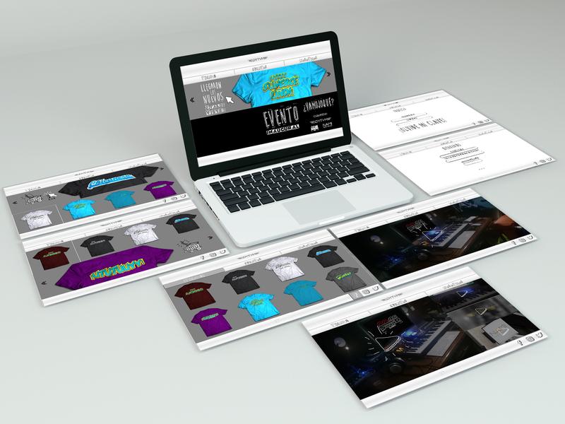 Cachalote Online Store web ui website branding typography vector