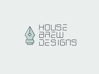 House Brew Designs Logo