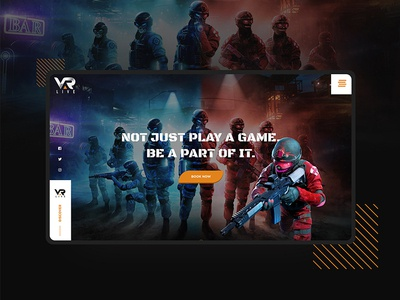 VAR LIVE | VR Gaming Studio - Website Design