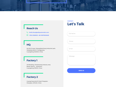 Polly Automatics  - Website Redesign Concept identity illustrator web app typography logo vector website design website web design icon ui ux user interface design userinterface user experience uiux uidesign illustration design
