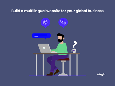 Build a multilingual website for your global business illustrator identity designer interaction vector icon illustration dailyui branding user interface design multilingual global startup design web design website design userinterface user experience uidesign business