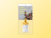 Beachfox Vanilla Sunscreen