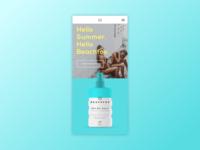 Beachfox Coconut Sunscreen