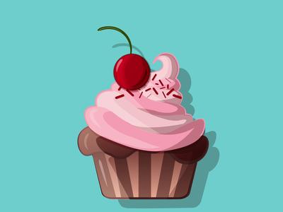 Muffin illustration