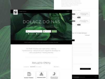 Job Search Engine for WWF Poland