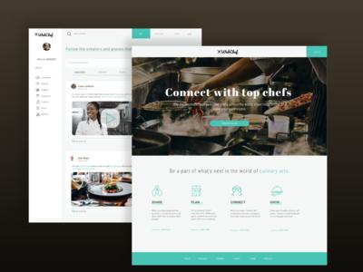 WebChef - a digital platform for chefs and cooks