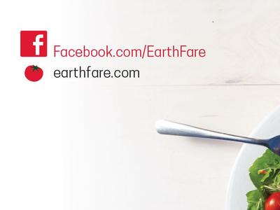 College Cookbook Earth Fare Back Cover