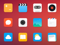 Luncher icons
