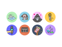 Anchor Station Icons