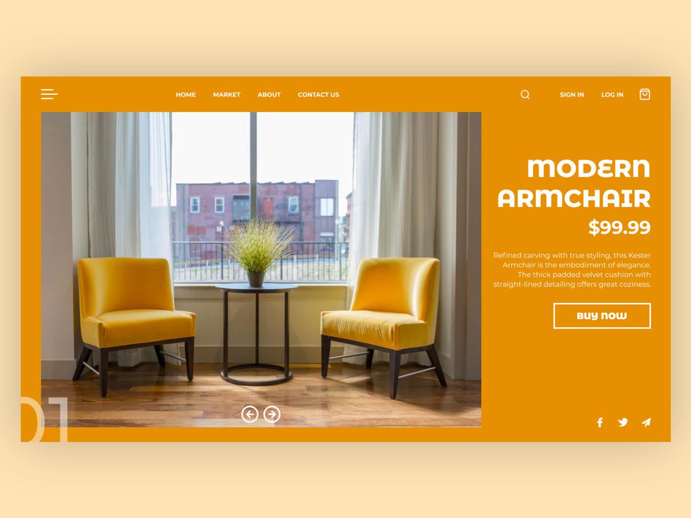 Store typography website webdesign web ux ui minimal design