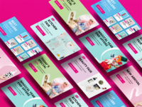 Go Shop E-commerce Banners Redesign