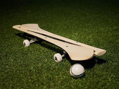 Hurlboard  hurling skateboarding tony hawk ireland skate