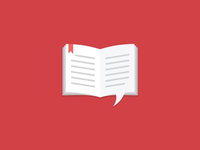 Translation Icon 3 logo book speech bubble mark icon translation literary speech bubble