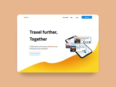 Daily Challenge 03 | Landing Page branding ui design web web design landingpage