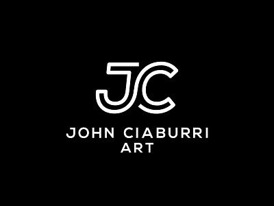John Ciaburri Art Logo Design branding logo design branding artist logo ciaburri brand graphic design logotype temple tx logodesign logo