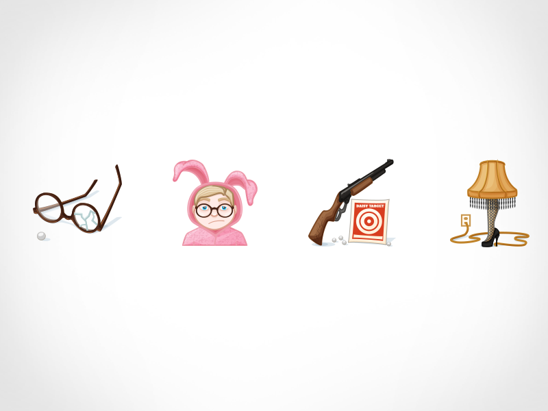 A Christmas Story Logo Vector.Christmas Story Icons Part 2 By Lindsey Io On Dribbble