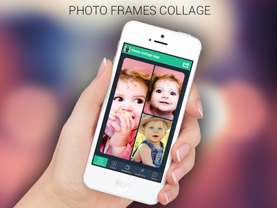 Photo Frames Collage App Ui