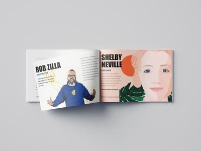 Adobe + Golden State Warriors Sketchbook Collaboration print design graphic design illustration