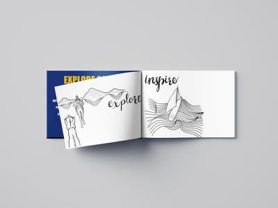 Adobe + Golden State Warriors Sketchbook Collaboration illustration print design