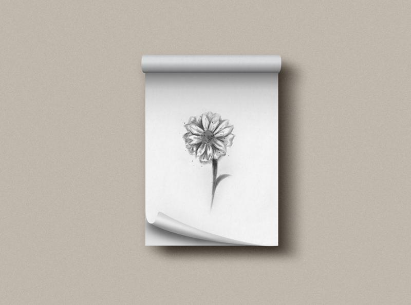 Tiny flower drawn drawing dribbble pincel brushes flora flor flower draw design ilustration