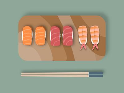 Sushi flatdesign illustration sketch vector illustration vectorart vector