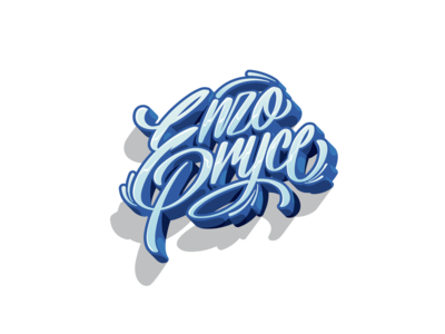 Enzo Pryce Lettering