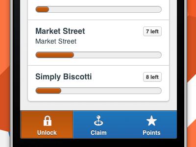 Beaconize navbar with beautiful icons icon icons loading bar nav navbar ios iphone ui interface app list