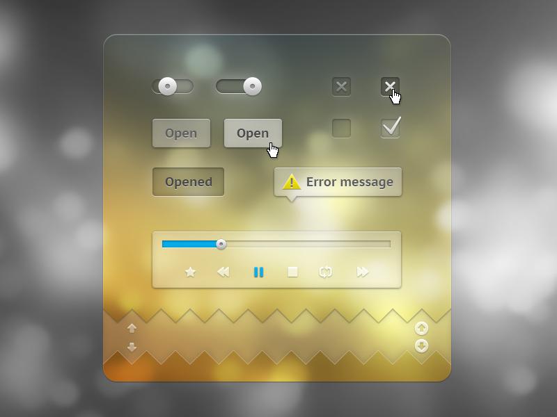 Transparence design interface