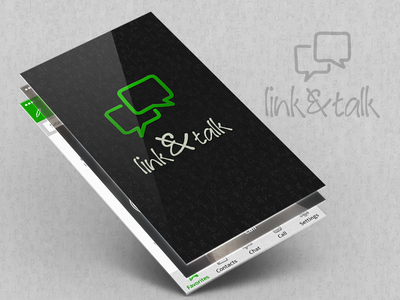 link&talk - Chat App whatsapp ios favorite iphone redesign message sketch chat ui ux interface talk