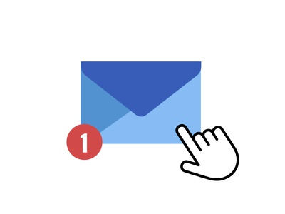Friendly Reminder Animation after effects illustration animation popup mail corona pandemic reminder