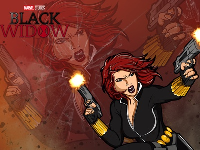 Black Widow / Natasha Romanoff natasha end game avengersendgame marvel stan lee illustration avengers black widow