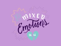 Mixed Emotions Sale