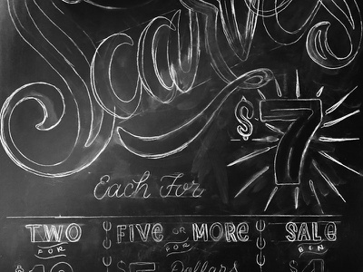 Chalkboard Lettering signpainting sign type chalk layout design lettering chalkboard