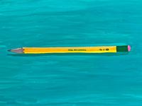 No 2 Yellow Pencil
