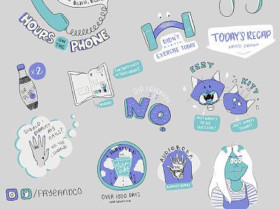 Learning Procreate! doodling ipad drawing comic daily procreate doodles illustration