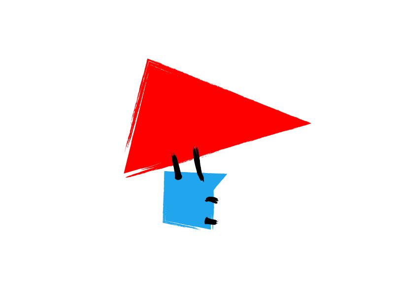 Air Baloon illustration air brush flask triangle logo air baloon air baloon art chemistry