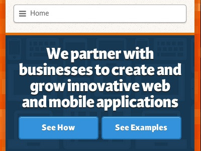 Homepage web rwd responsive mobile first karmina extra bold
