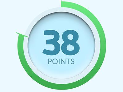 Points Meter ios points rewards progress meter